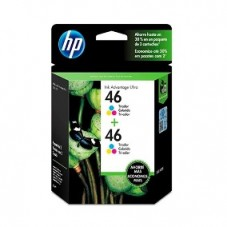 Cartucho HP 46 Duo Pack Color
