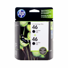 Cartucho HP 46 Duo Pack Negro