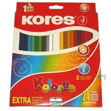 Colores Kores x24