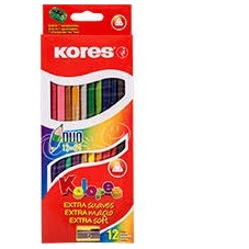 Colores Kores x12 Doble Punta