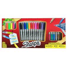 Sharpie x 23 Neon + Metallic