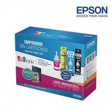 Tinta Epson 664 Kit x 4 mas...
