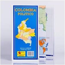 Mapa de Colombia Politico...