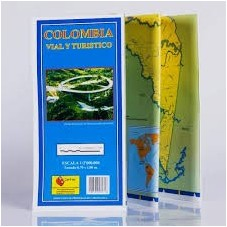 Mapa de Colombia Vial y...