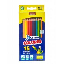 Colores Norma Caja x 13 + 2